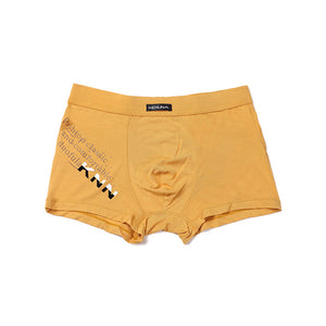 Letters Pattern Sexy Comfortable Men's Boxer Brief