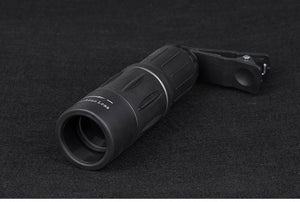 Mini portable18X25 Monocular Telescope Dual Focusing Adjustment Low Light Night Vision Spotting Living