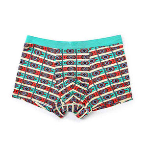 Exotic Pattern Printed Men's Comfortable Boxer Brief
