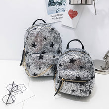 Stars Sequins Casual Parent-child Backpack Mini Backpack