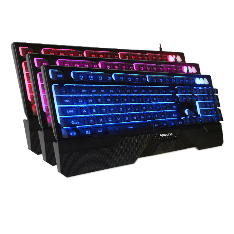 Backlight Electro-Competitive Game Keyboard Mechanical Hand Sense Competitive Device Hand To Hand Keyboard