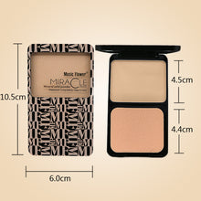 Dry and Wet Double Applicable Pressed Powder Compact Finishing Powder