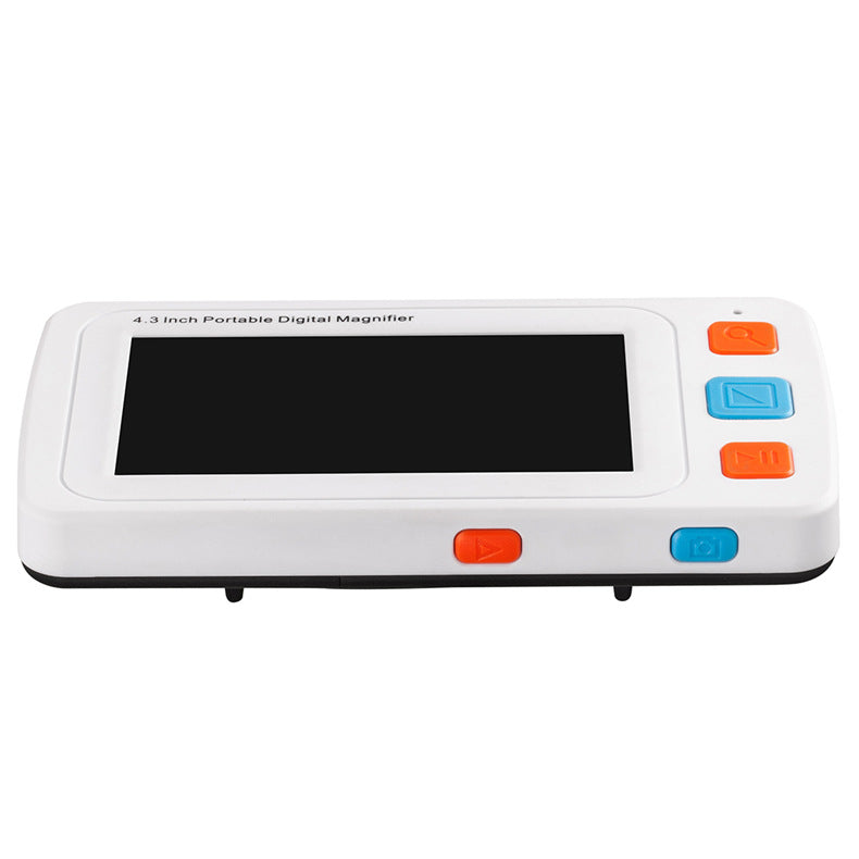 4.3inch LCD Portable 4-32X Video Digital Magnifier Electronic Reading Aid 17 Color Modes VGA For Elderly