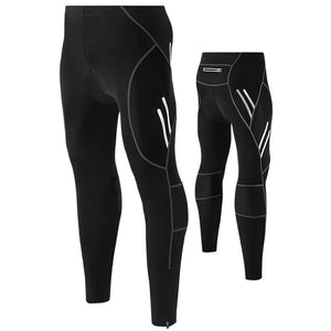 New Cycling Suit Male Bike Quick Dry Riding Trousers Silicone Cushion Cycling Pants