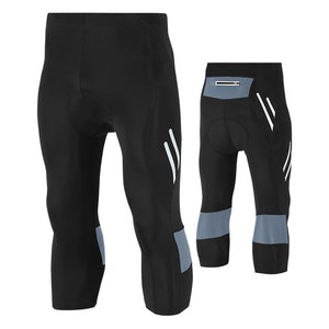 Quick-Dry Riding Cropped  Pants Stretch Light Bicycle Cycling Suits Men's Sports Clothing