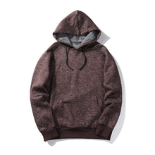 Casual Solid Color Side Seam Pocket Hoodies for Men