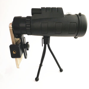 New 40x60 Monocular Telescope High-Definition Night Vision Outdoor Travel Portable Portable Bracket Telescope