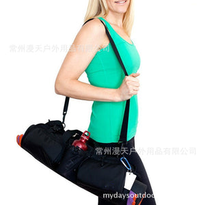 Multi-Pocket Yoga Bag Manufacturer Direct Sales Shoulder Yoga Mat