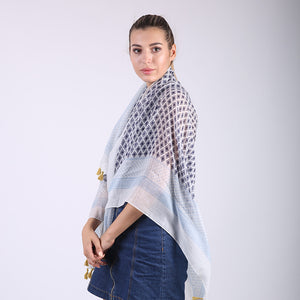 Big Square Sun Blocking Beach Shawls for Women