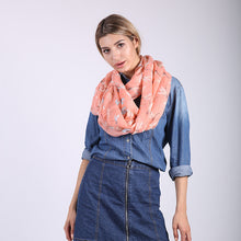 Women's Voile Scarves Fashion Dragonflies Pattern