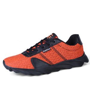 Breathable and Vibration Absorption Men's Light Weighted Sneakers