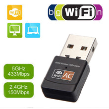 Portable Wifi Signal Receiver Usb Wireless Card Dual-Frequency Laptop Adapter Transmitter