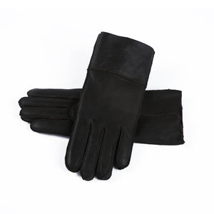 Solid Color Warm Keeping Winter Gloves for Women