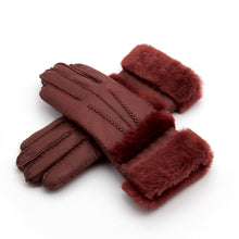 Solid Color Women's Winter Warm Keeping Windproof Gloves