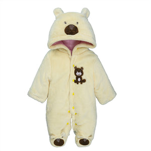Animal Characteristics Baby's Cute One-Piece Footie