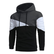 Easy Chic  Casual Color Blocks Hoodies for Men