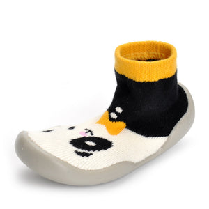 Cute Warm Cartoon Sock Shoes Non-slippery Toddler Shoes