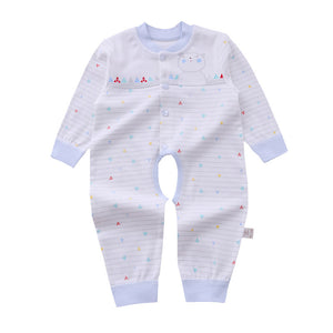 Baby's Spring Ventilate Cotton Cartoon Patterns Rompers