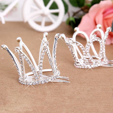 Children'S Day Watch Shows The Crown Hair Combs Hair Ornaments Crown Jewels
