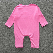 Pink Baby's Long Sleeves One-Piece Overalls