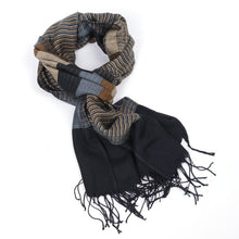 Color Blocks Double Sides Scarves for Men