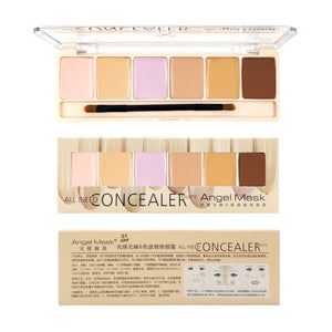 ANGEL MASK Professional 6-Color Concealer Palette
