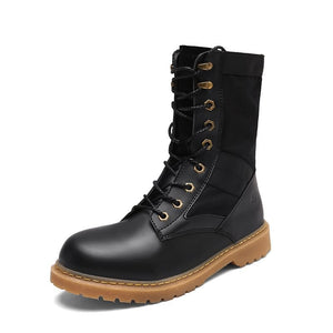 Medium Length Army Boots for Men (1 pair)