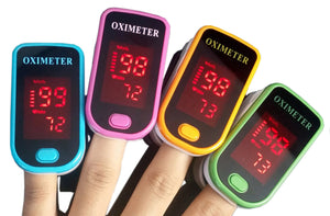 Pulse Oximeter With Blood Oxygen Saturation Monitor Refers To The Pulse Oxygen Rate Meter