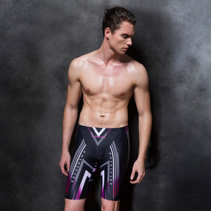 New Arrival Men's  Printed Shorts Comfort and Easy Chic Racing Swim Shorts