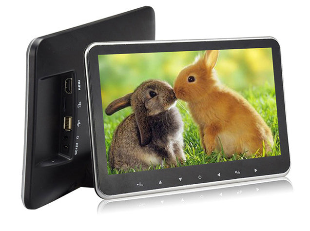 10.1-Inch External Headrest Monitor Display External Mounted MP5 Monitor Mounted Headrest Monitor