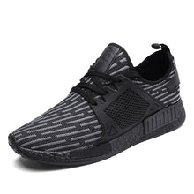 Skid Resistance Breathable Lace Up Running Sneakers