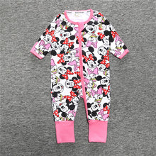 Pink Baby's Long Sleeves Front Closure Onesies