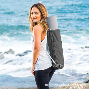 Canvas Yoga Bag Double Shoulder Yoga Bag Garment Bag For Women