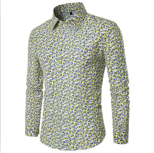 Pattern Printed Casual Shirt for Beach, Dating Occassions