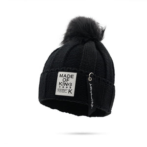New Arrival Thickening  Women's  Hair Ball  Casual Stickers  Wool Hat
