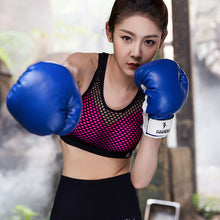 New Sexy Hollow Out Yoga Bras Sports Bra Sexy Mesh Back Fitness Running Women Crop top Sport Bra Gym Tank Top