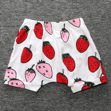 Summer Kids Hot Shorts Toddler Printed Cartoon Pattern Knee Length Baby Girls Boys Pants Shorts Wide Unique Beach Trousers