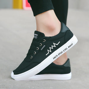 Autumn Men's Shoes Sports Men's Shoes Korean Fashion Casual Students Canvas Small White Shoes