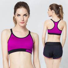 Yoga Suit BRA Candy color Running TOP Bra shockproof Fitness Sweat Quick-drying Sports bras High quality Sexy Large size Vest