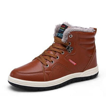 Men's Winter Thick Cotton Solid Color Casual Shoes (1 pair)