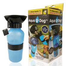 Squeezed Water Bottle Portable Pet Water Bottle 530ML Vertical Outdoor Drinking Water Glass Cat And Dog Feed Water Bottle