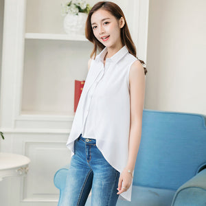 Womens Short Sleeve Chiffon Blouse Peplum Summer Tops Ladies Long Office Shirts Plus Size Ruffle Blouse