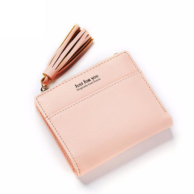 Women's Wallet With Japanese And Japanese Version Of The Style Of Fashion And Simplicity Of The Zipper Short Zipper