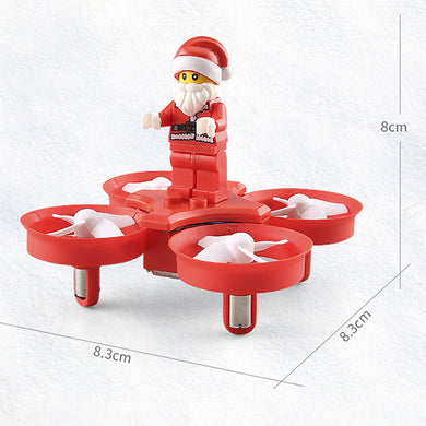 JJRC Remote Control Aircraft Indoor Mini Four-Axis Aircraft Can Withstand The Impact Of The Christmas Series Puzzle Toys
