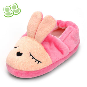 Cute Rabbit Pink Slipper Baby Girl's Shoes