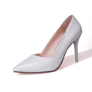 Women's  Pointed High-heeled Shoes with  Frosted Surface (1 pair)