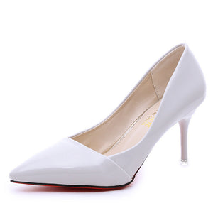 New Arrival Women's Solid Color  Pointed Thin with High Heels Banquet  Shoes(1pair)