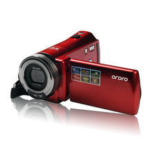 Red / Black 16 Times 2.7 Inch Screen Digital Camera DV Camera