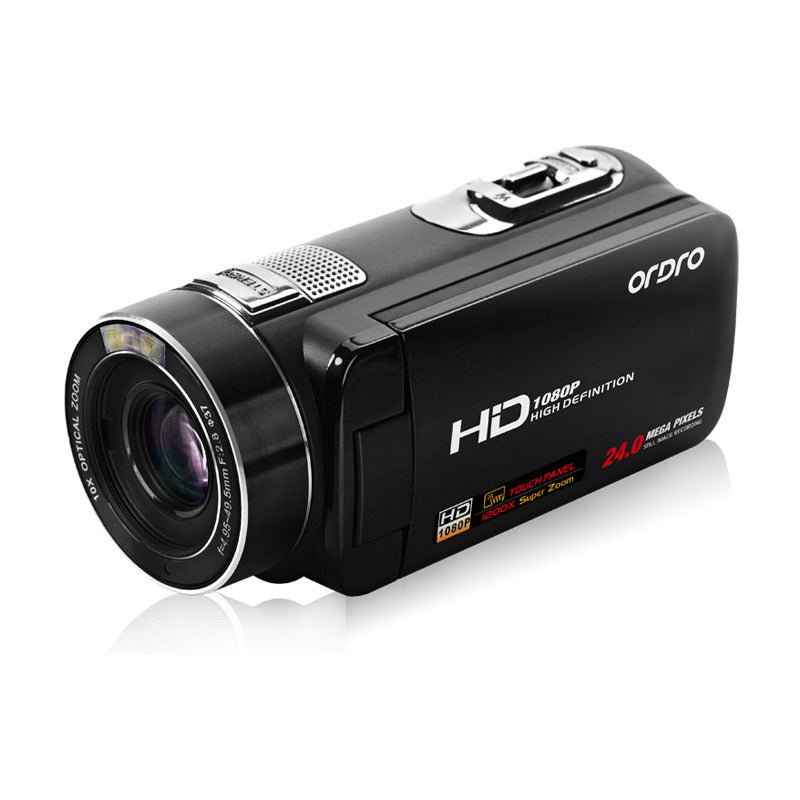 Professional Digital Video Camera HDV-Z80 24-Megapixel High-Definition Touch Remote Control