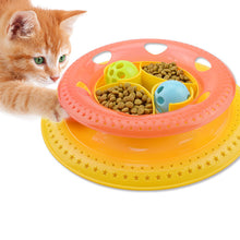 Cats Ring Turning Plate Entertainment Tease Cats Turnplate
